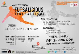Lomba Futsal FUTSALICIOUS 2017