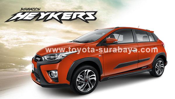 Promo Harga Toyota Yaris Heykers Surabaya