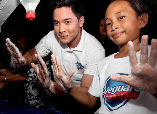 Alden Richards Spreads Love Through Safeguard