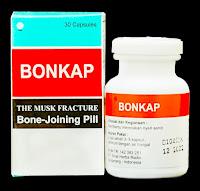 Jual BONKAP Pill Obat Patah Tulang Retak di Surabaya