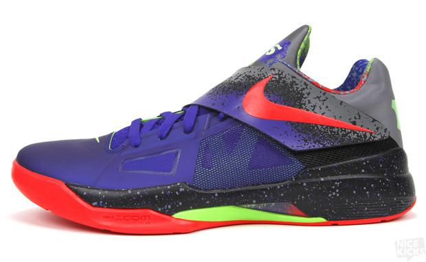 "Hoopz Nation Basketball: Nike Zoom KD IV ""Nerf"""