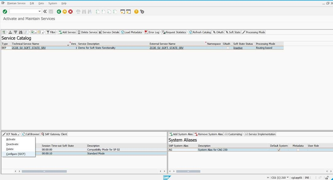 System variable for timestamp in sap