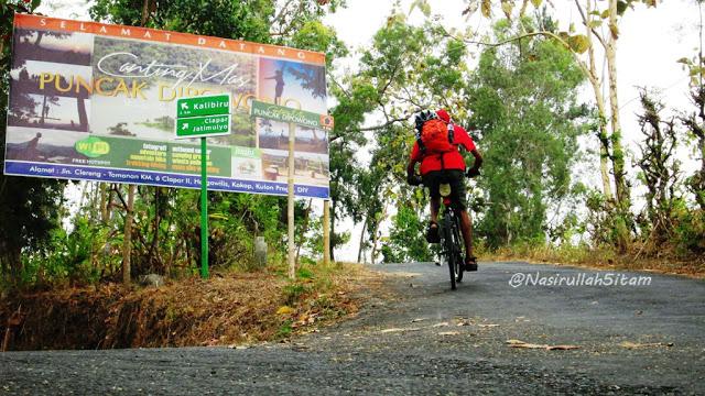 Jalur ke Canting Mas Dipowono Kulon Progo