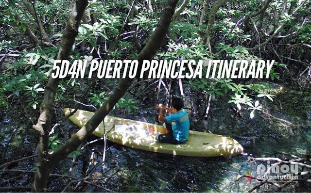 Puerto Princesa Travel Guide Blogs Sample 5 Days Itinerary Palawan
