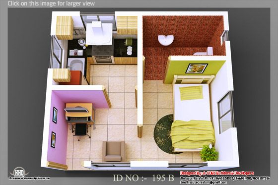 3d isometric view 02