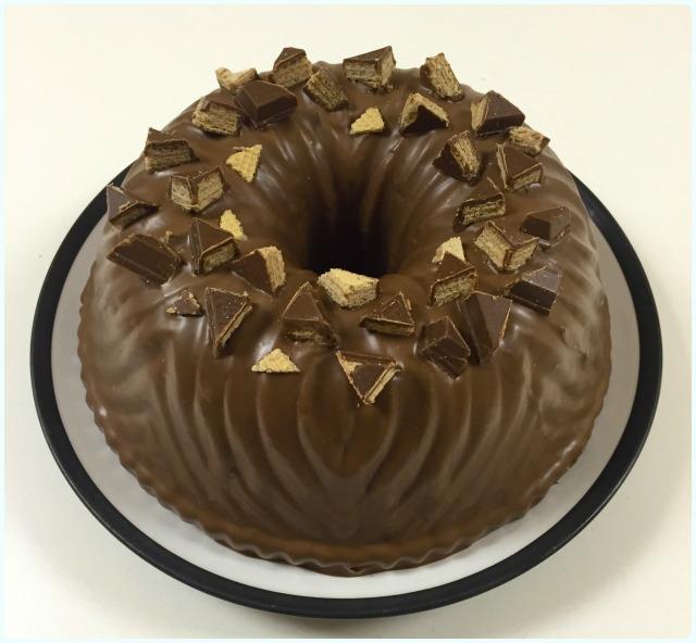 KitKat Bundt Cake