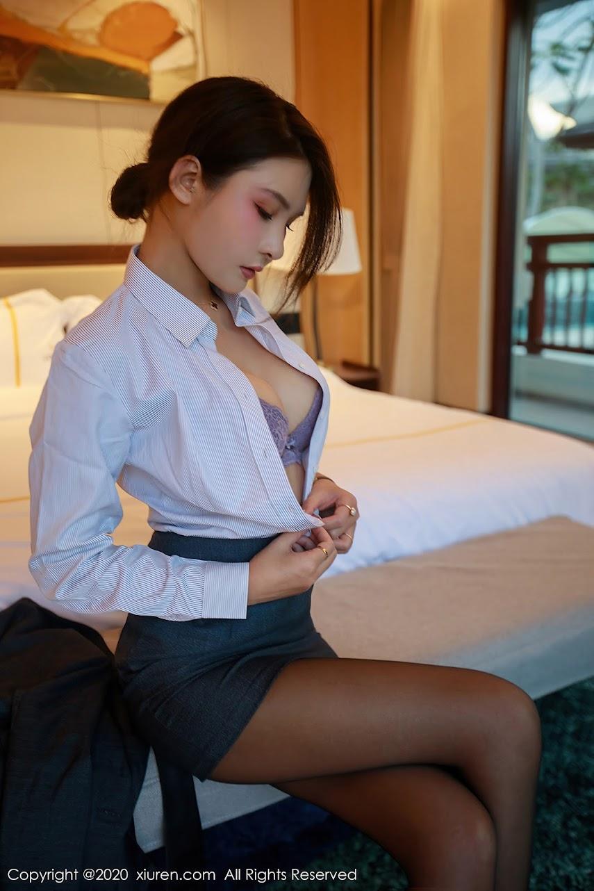 xiuren 2020-07-09 Vol.2309 Emily顾奈奈 sexy girls image jav