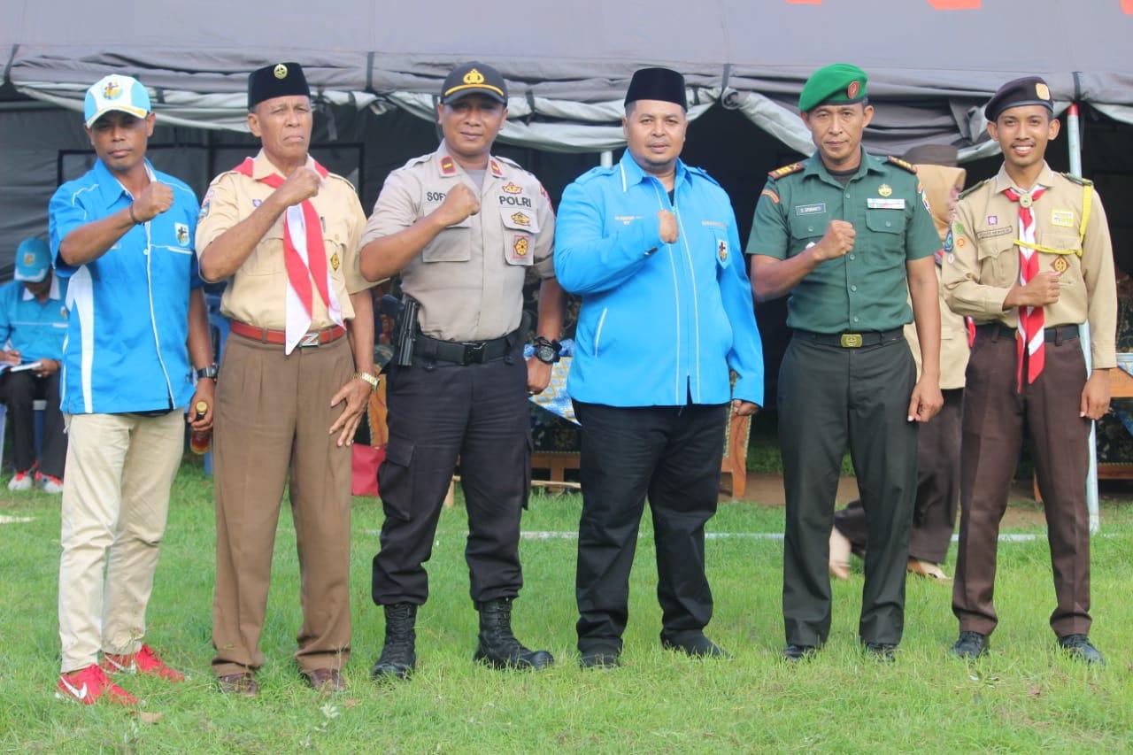 DPD KNPI Apresiasi Suksesnya Kegiatan Kemah Perjusami