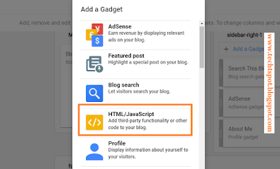 Add Floating Pop-Up Ads to Blogger with Pictures 2