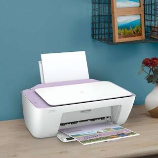 cara cleaning printer HP