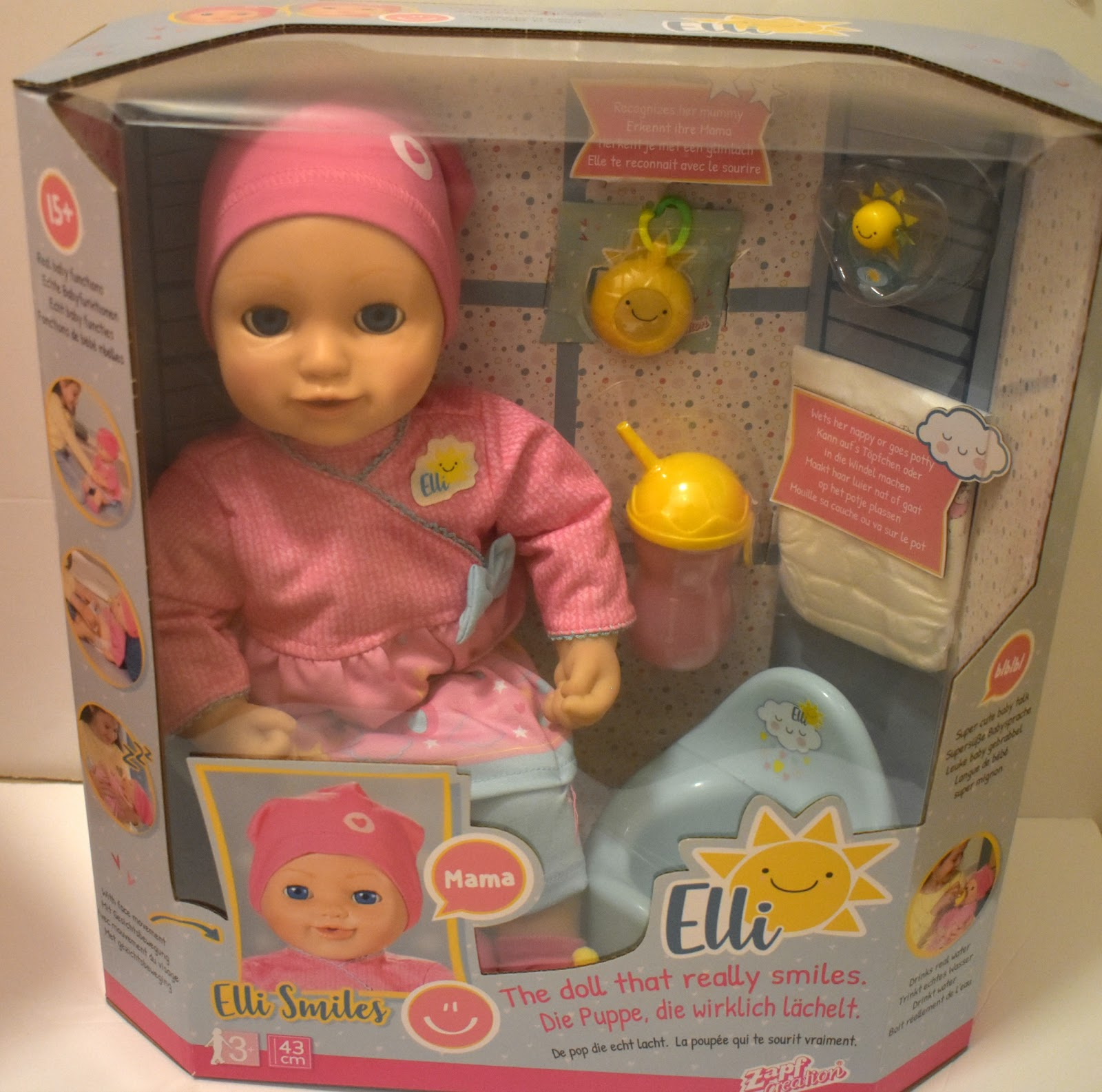 Elli Smiles Doll Review