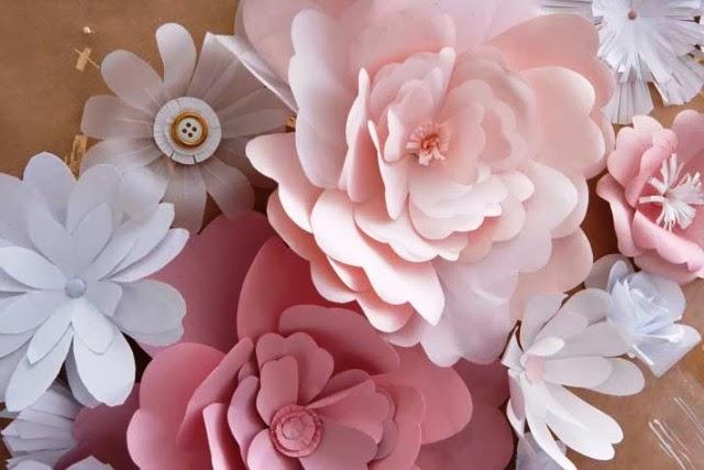 Kreasi Bunga Kertas