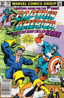 Captain America #261, Nomad is back