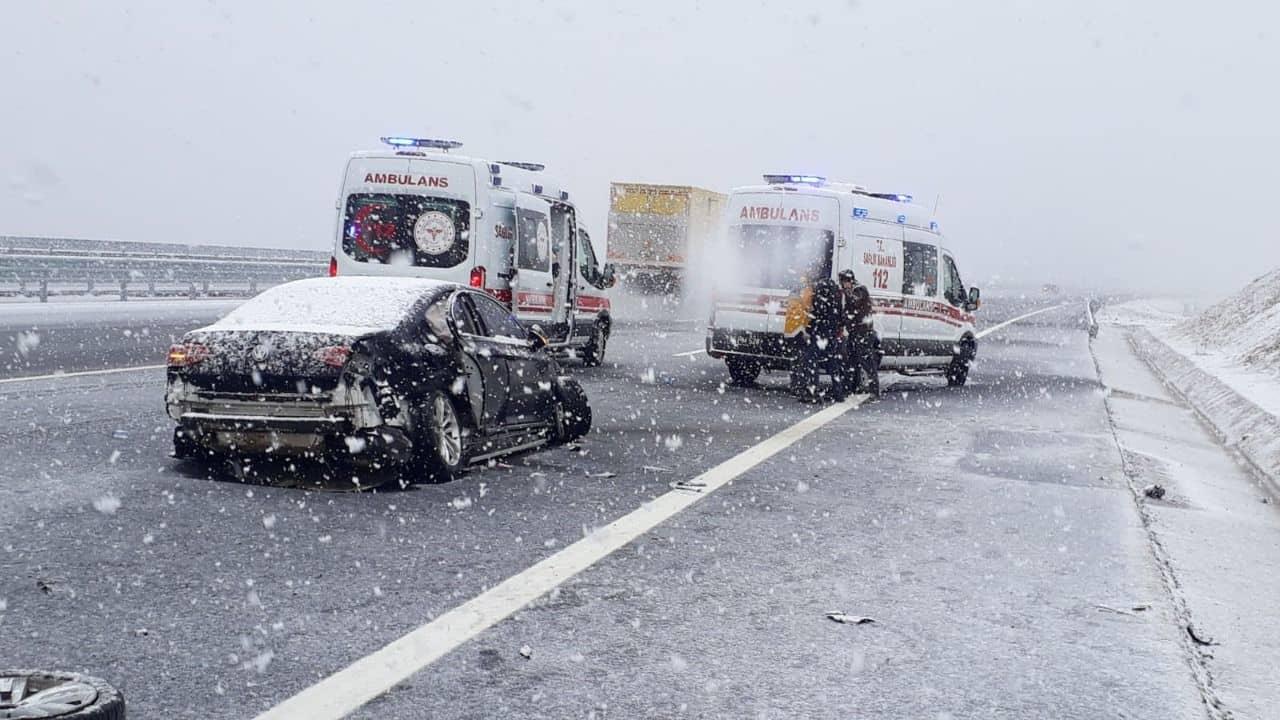 Belediye Başkanı Şeyma Döğücü trafik kazası geçirdi