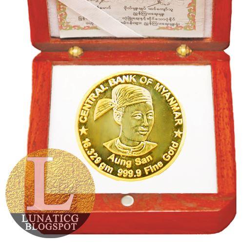 Aung San coin