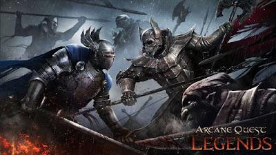 Arcane Quest Legends Mod Apk + Data Acts Unlocked Offline RPG