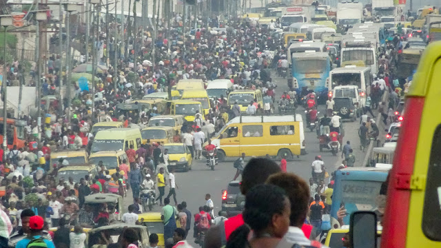Kinshasa has too many people but not enough apartments