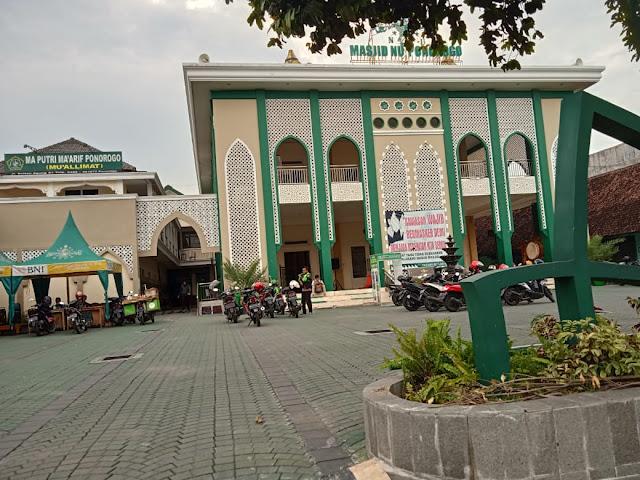 Megahnya Masjid NU Ponorogo, Ibnu Multazzam : Yang membangun Pak Ipong