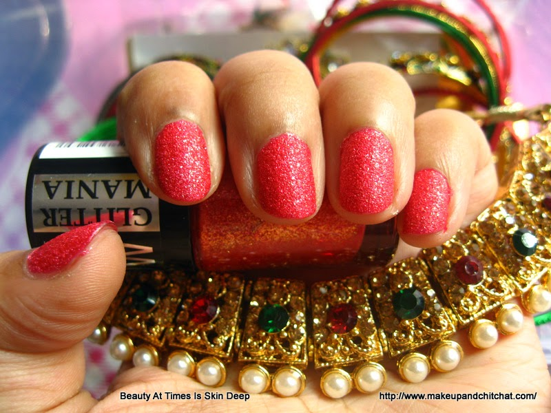 Red Carpet swatches Maybelline India