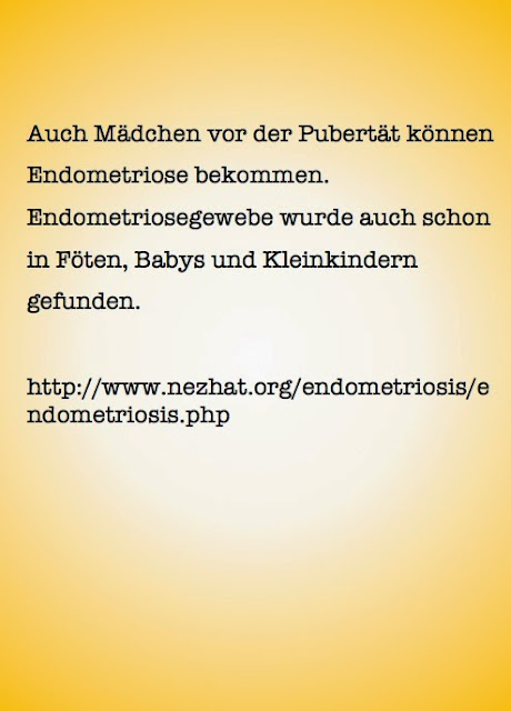 Endometriose bei Kindern