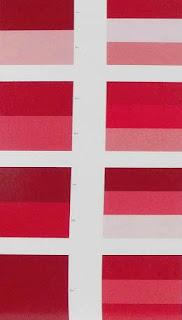 COMBINAZIONE DI COLORI OPULENTA  - RICCA -  SFARZOSA Blog Artistah24 - abbinamenti monocromatici gamma del rosso