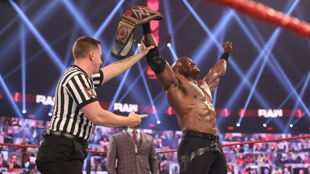 Bobby Lashley on WWE RAW