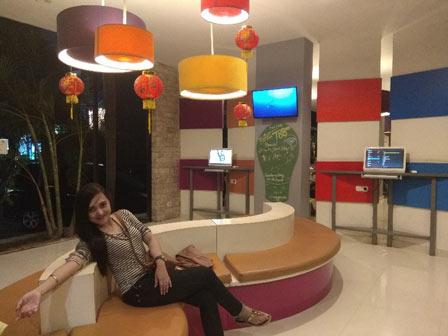 lobby hotel pop harris denpasar
