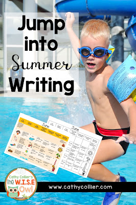 Want a quick writing ideas for summer writing. Check out this little set for all kinds of writing with a summer theme.