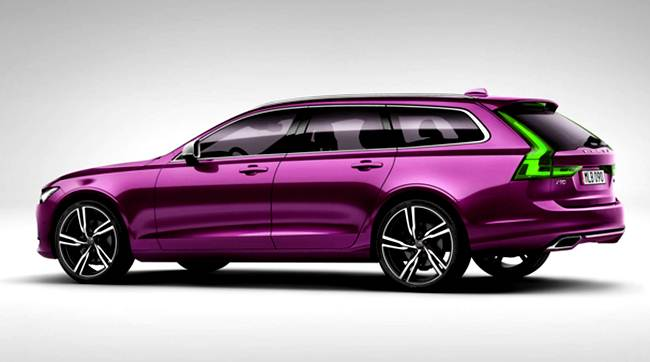2017 Volvo S90 and V90