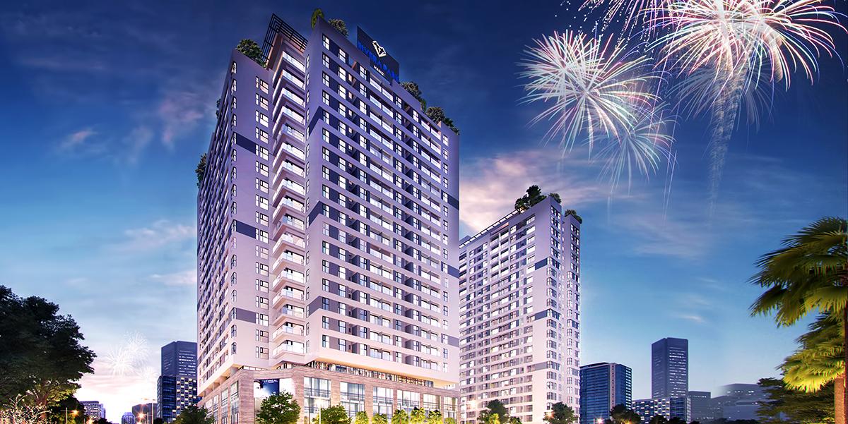 Phối cảnh dự án chung cư Rivera Park