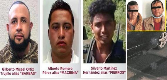 El Gobierno no perdona? estos son los Sicarios de La Familia Michoacana que masacraran a 12 elementos en venganza por decomisos ahora son cazados 500 mil pesos hay fotos