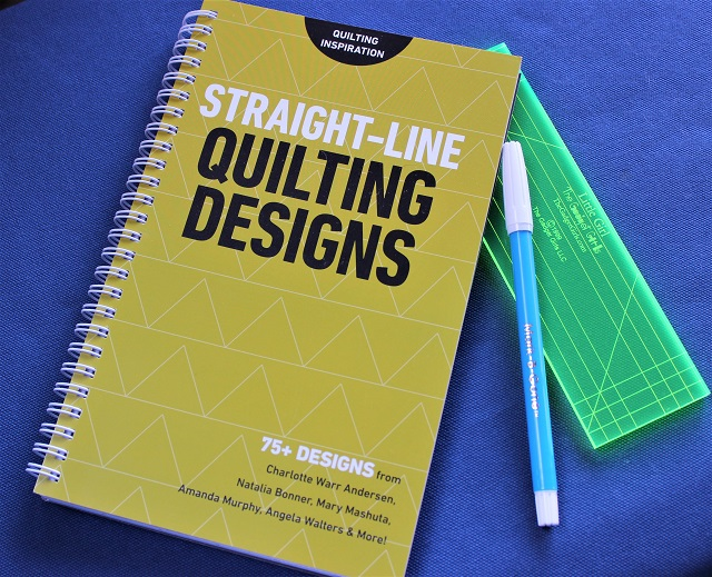 Straight Line Quilting Designs book