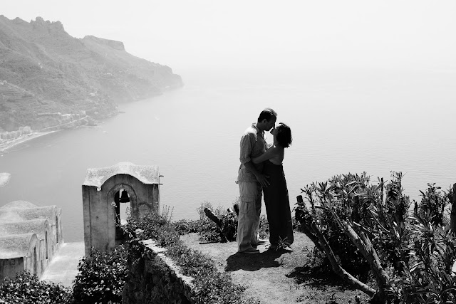 Babymoon portrait in Ravello