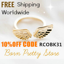 Born Pretty Store haul- Jewellery again, Discount coupon