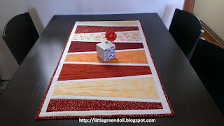 Camino de mesa patrón Table Runner Pattern