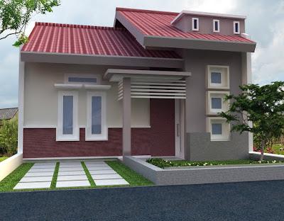 Rumah Minimalis 1 Lantai Modern