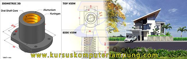 Mechanical Enginering (Kiri) Exterior Design (Kanan)