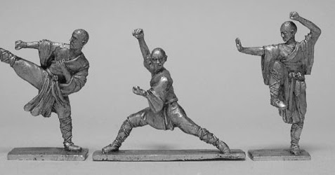 Wargame News and Terrain: CP Models: 28mm Martial Artists