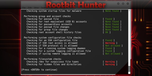 Rootkit Hunter