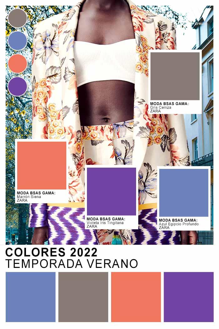 los colores que estan de moda esta primavera verano 2022