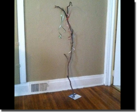 Natal Fail - As decorações mais infelizes do mundo - O cúmulo da preguiça
