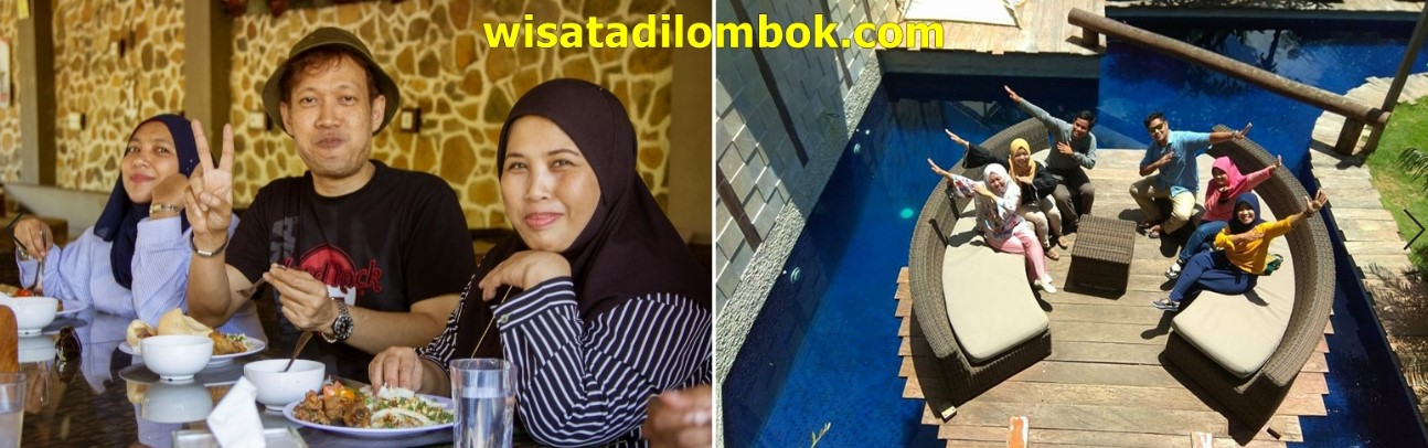 Aktivitas Makan Siang Tour Kuta Lombok