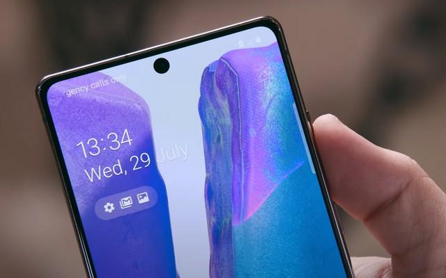 كيفية التقاط لقطة شاشة على Samsung Galaxy Note 20