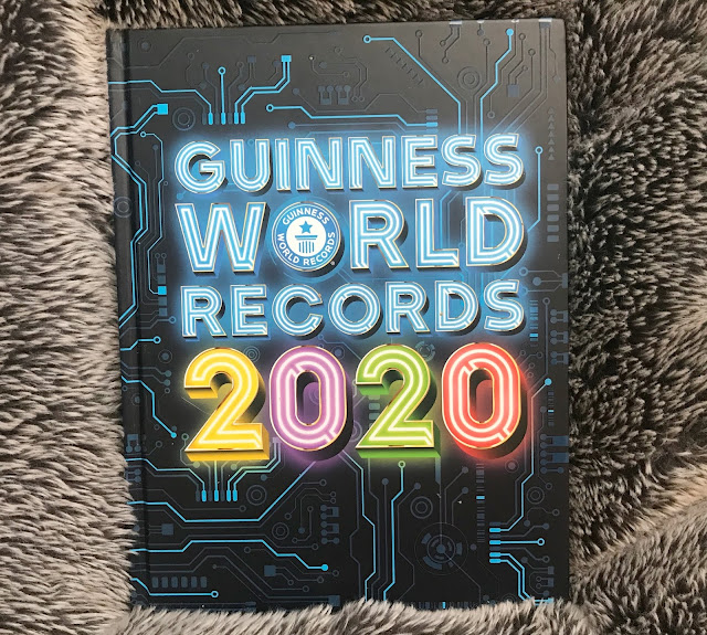Guinness world record 2020 book hardback