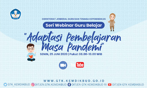 Webinar Series Guru Belajar GTK Dikdas