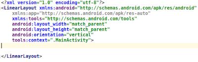 android activity xml