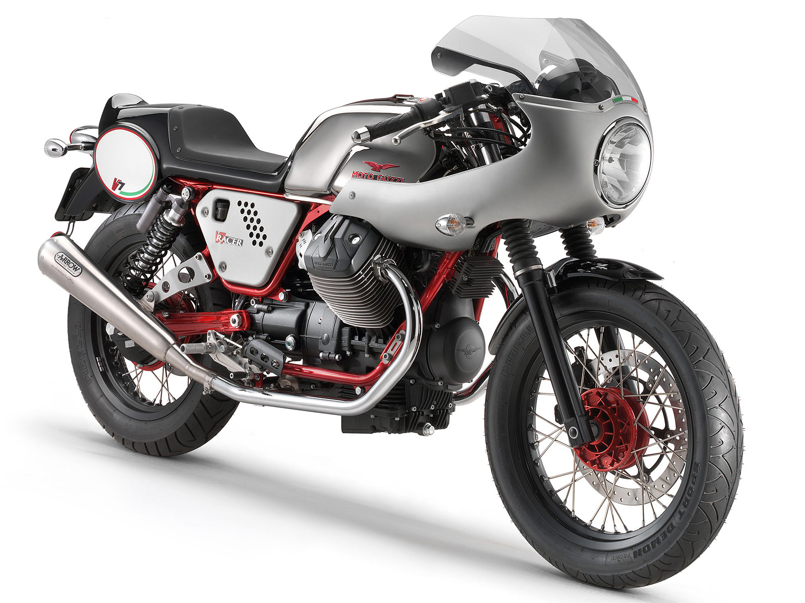 2013 moto guzzi v7 racer motorcyle photos and specifications. Black Bedroom Furniture Sets. Home Design Ideas