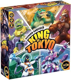 Como jugar King of Tokyo the board game