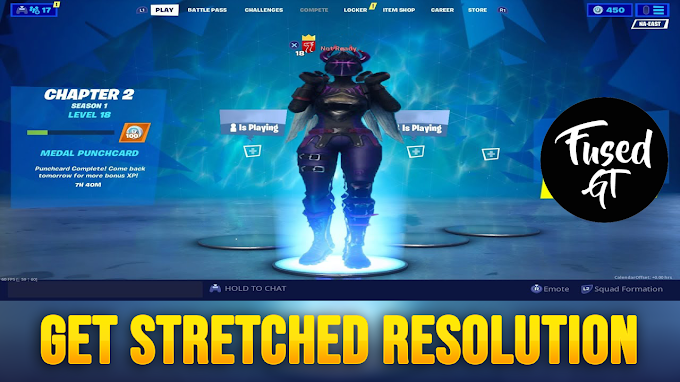 GET Fortnite NEW STRETCHED RESOLUTION *After Patch* Chapter 2