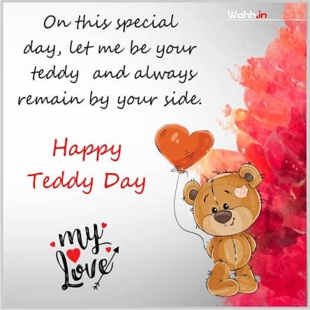 teddy bear whatsapp status